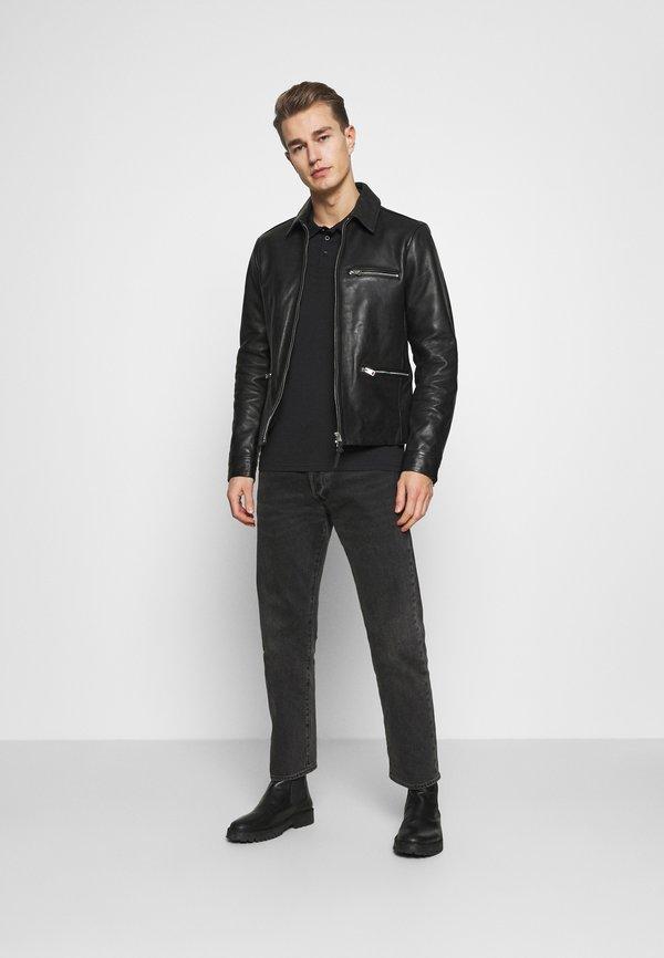 Pier One Koszulka polo - black/czarny Odzież Męska MRYO