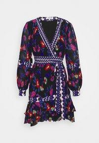 Diane von Furstenberg - SOL DRESS - Day dress - medium black - 5