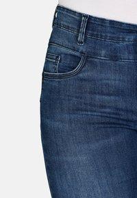 Cero & Etage - Slim fit jeans - medium blue w use - 4