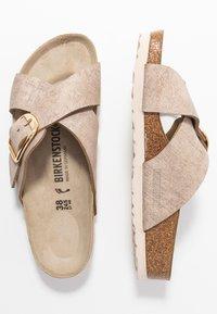 Birkenstock - SIENA - Slippers - washed metallic rose gold - 3