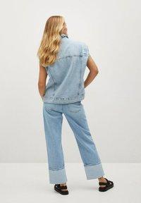 Mango - Straight leg jeans - lichtblauw - 2
