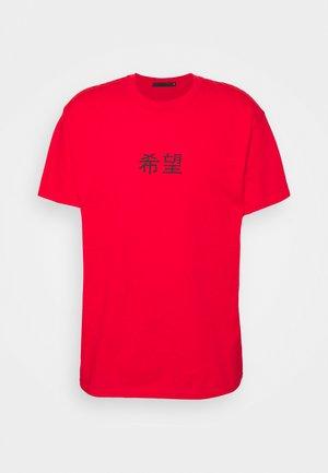 HAVANA ETERNITY DRAGON REGULAR - Print T-shirt - red