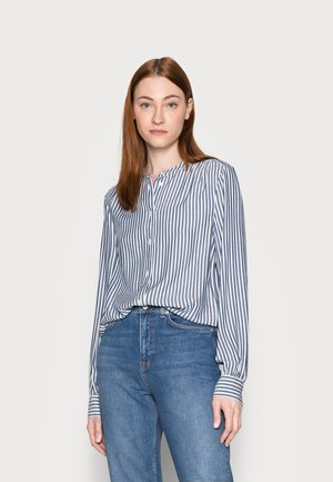 SHIRRED - Blouse - blue