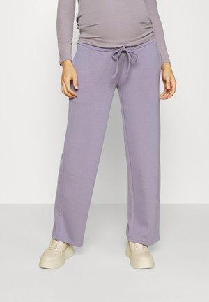 MLZEDA LOUNGE WIDE PANTS - Trainingsbroek - minimal gray