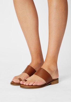 AURORA - T-bar sandals - tan