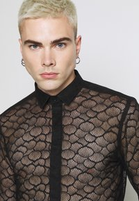 Twisted Tailor - PHONOX SHIRT - Košile - black - 4