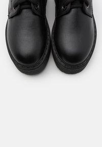 Even&Odd - Kotníkové boty na platformě - black - 5