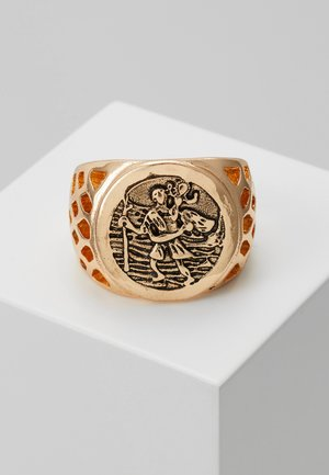 SOVEREIGN SIGNET - Anillo - gold-coloured