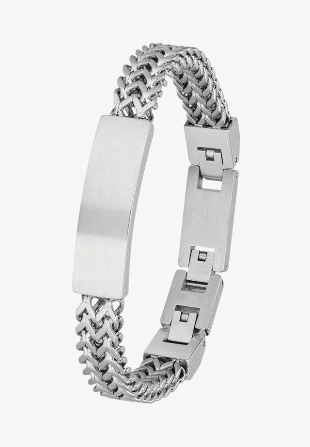 MIT PANZERKE - Bracelet - silber