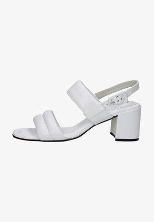 Sandales à talons hauts - weiss