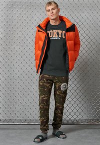 Superdry - CITY COLLEGE - Sweatshirt - washed black - 0