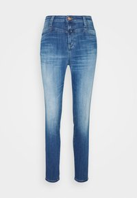 CLOSED - SKINNY PUSHER - Skinny džíny - mid blue - 3