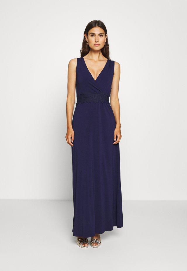 Długa sukienka - evening blue