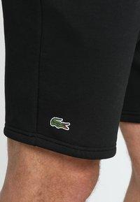 Lacoste Sport - MEN TENNIS SHORT - Sports shorts - black - 4