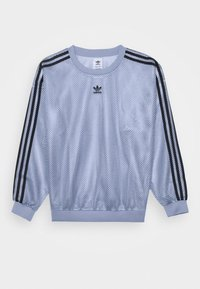 adidas Originals - CREW SPORTS INSPIRED - Long sleeved top - chalk blue