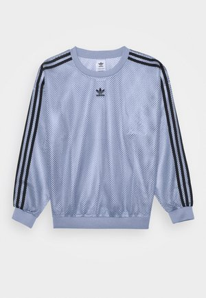 CREW SPORTS INSPIRED - Maglietta a manica lunga - chalk blue