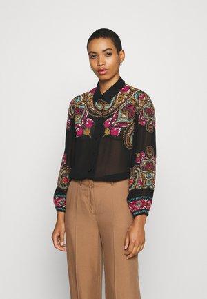 INCROYABLE - Button-down blouse - noir