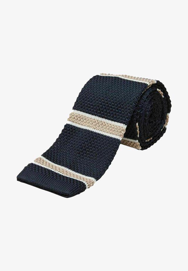 Cravate - dark navy