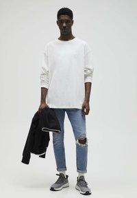 PULL&BEAR - Jeans slim fit - stone blue denim - 1