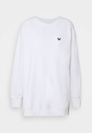 CREW NECK - Sweatshirt - white