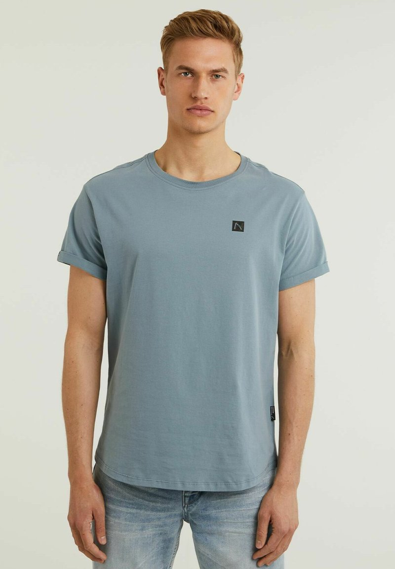 CHASIN' - Basic T-shirt - blue