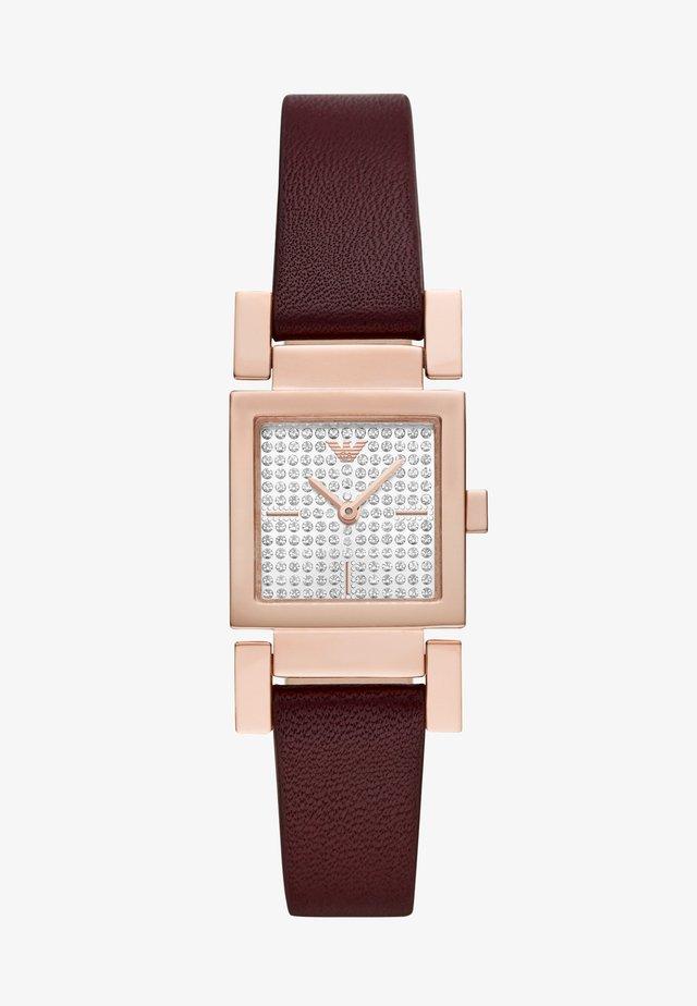 Horloge - purple
