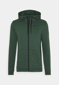 Nike Performance - DRY HOODIE  - Zip-up hoodie - galactic jade/black - 3