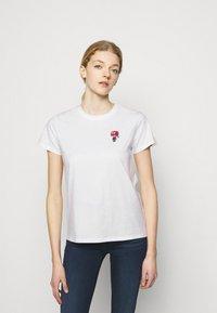 KARL LAGERFELD - MINI 3D IKONIK  - T-Shirt print - white - 0