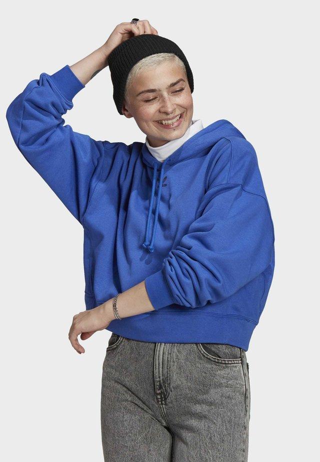 HOODIE - Felpa con cappuccio - bold blue