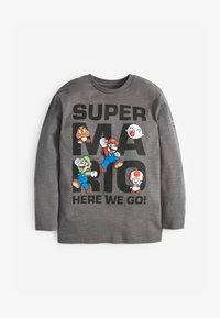 Next - MARIO LONG SLEEVE T-SHIRT - Long sleeved top - grey - 0