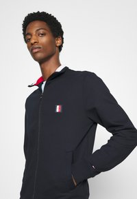 Tommy Hilfiger - GLOBAL ZIP THROUGH - veste en sweat zippée - blue - 4