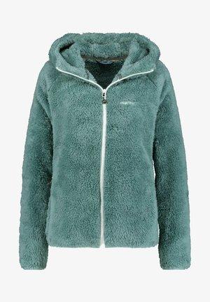 Fleece jacket - teal