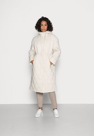OVERSIZED QUILTED - Parka - cream