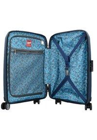 Hardware - BUBBLES  - Wheeled suitcase - dark blue - 3