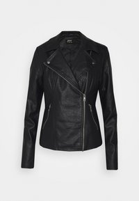 ONLY Tall - ONLMELISA BIKER - Giacca in similpelle - black - 5