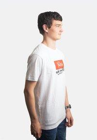 Platea - Print T-shirt - weiß - 1