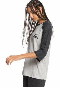 Quiksilver - Long sleeved top - light grey heather - 3