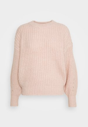 VISUBA ONECK - Jumper - misty rose/melange