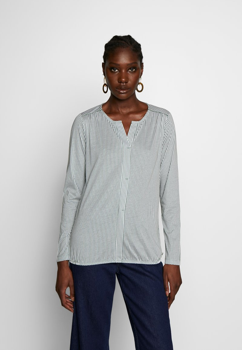Marc O'Polo - Long sleeved top - green