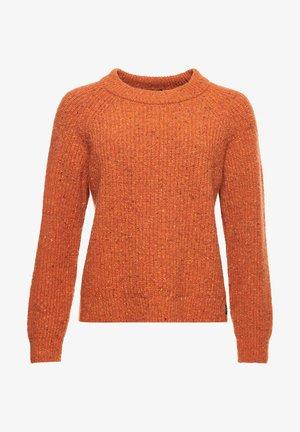 FREYA TWEED - Jumper - rust tweed