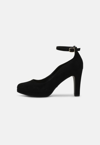 COMFORT - Lodičky na vysokém podpatku - black