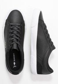 Lacoste - LEROND  - Trainers - black/white - 3