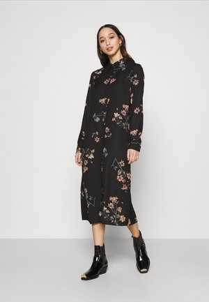 VMLALLIE CALF DRESS  - Shirt dress - black
