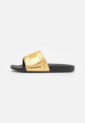 Mules - gold