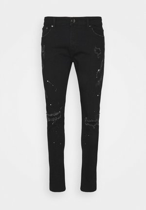 SPLATTER - Jeans Skinny Fit - black