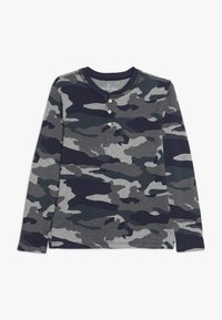 J.CREW - CAMO HENLEY - Long sleeved top - heather slate - 0