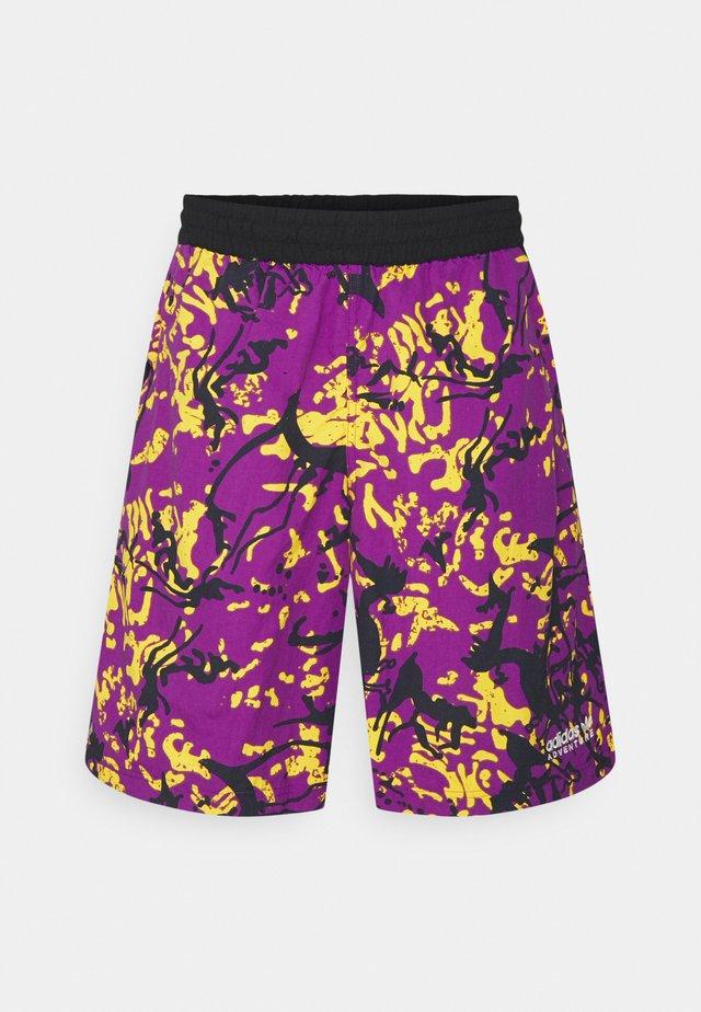 Szorty - multicolor/glory purple