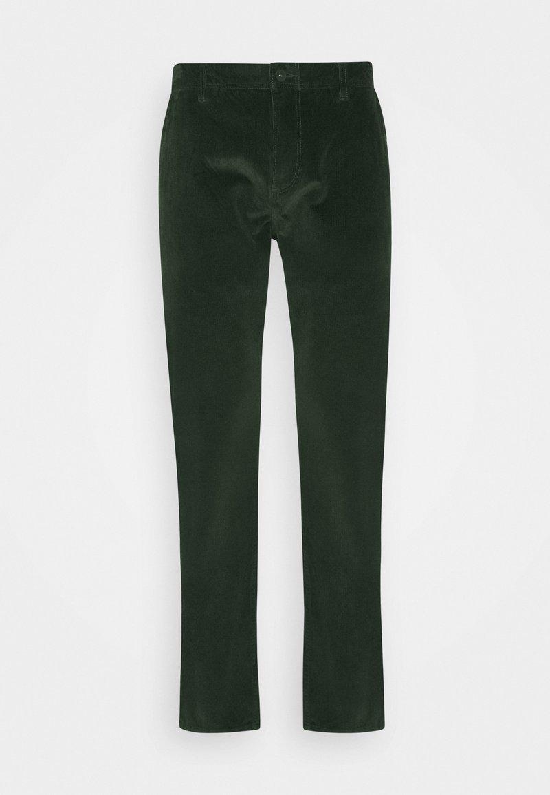 DOCKERS - SMART FLEX ALPHA SLIM - Spodnie materiałowe - gray woods