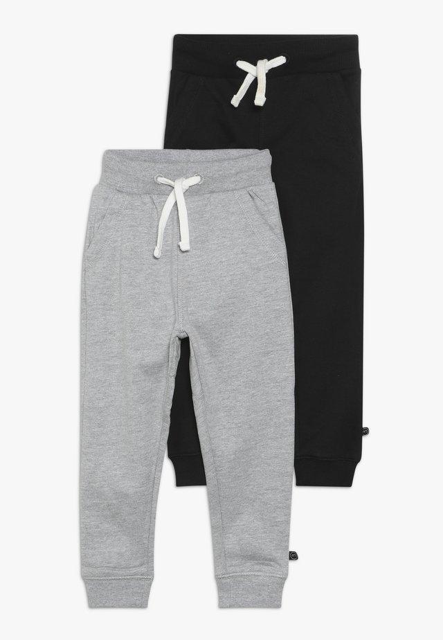 BASIC 2 PACK - Pantalon de survêtement - anthacite black