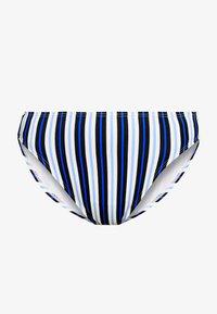 MICHAEL Michael Kors - MARINE STRIPE HIGH WAISTED BOTTOM - Bikini bottoms - black/multi - 3